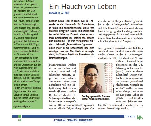 Read more about the article Ein Hauch von Leben