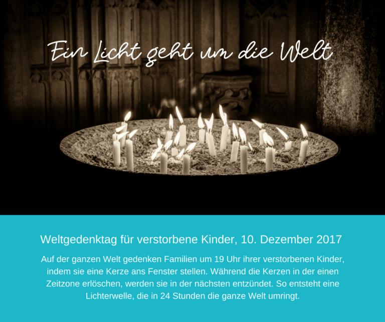 Read more about the article Möge ihr Licht für immer scheinen …