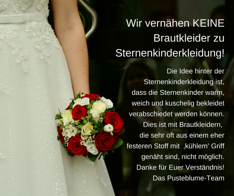 Read more about the article Wir nehmen KEINE Brautkleider