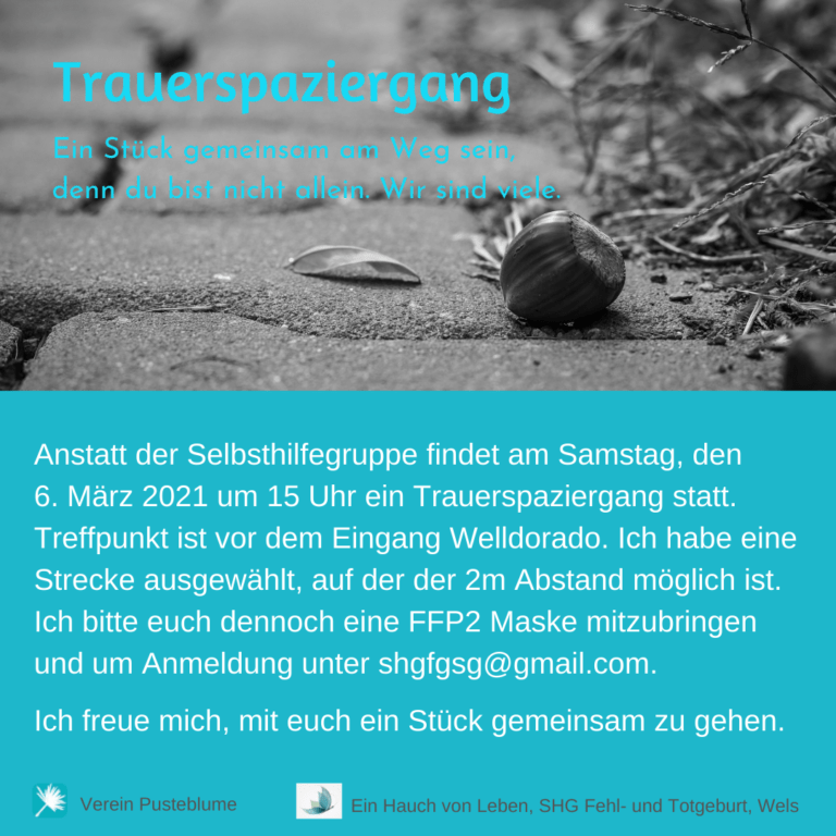 Read more about the article Trauerspaziergang