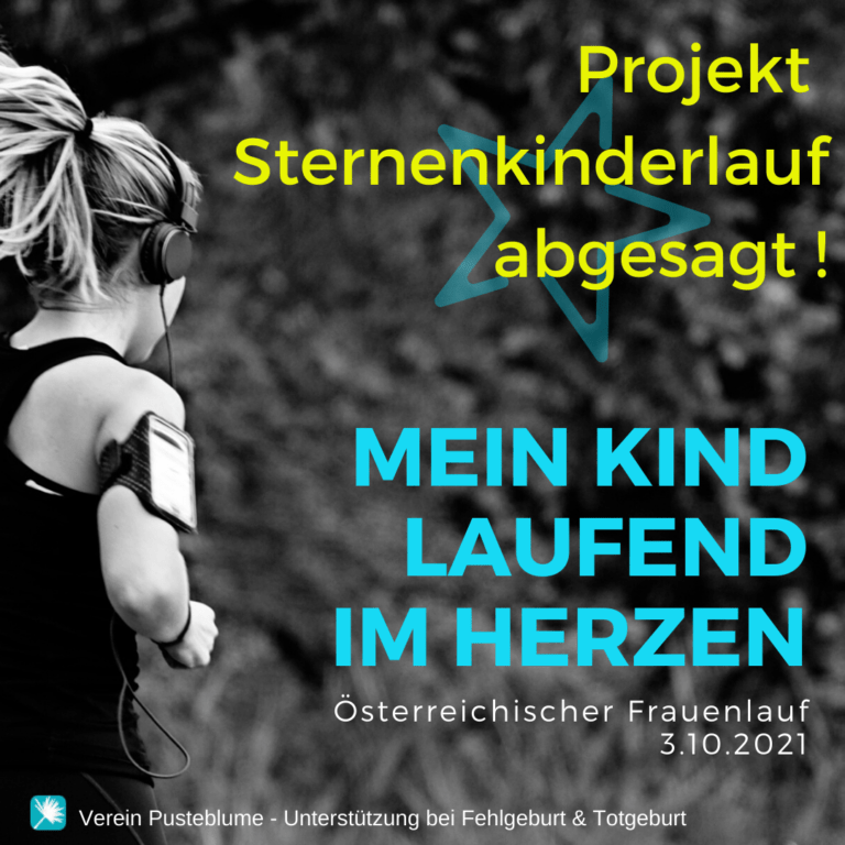 Read more about the article Absage Sternenkinderlauf
