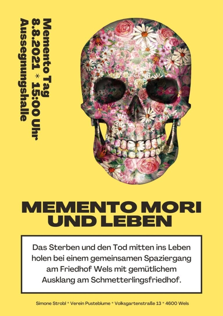 Read more about the article Der Tod ist kein Tabu